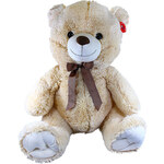 Rappa Plyšový medvěd 80 cm světle hnědý - dle obrázku