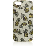 Topshop Metallic Pineapple iPhone 5 Case