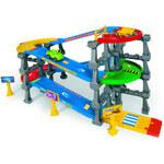 Wader WADER Garáž KID CARS 3D s dráhou 3,7 m - dle obrázku
