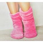 Ponožky L&L broskvové