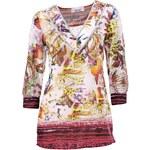 LINEA TESINI barevná návrhářská tunika, tunika ze 100% bavlny