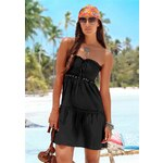 Plážové šaty BEACH TIME 34 černá
