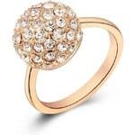 Roxi Romantický dámský prsten s výrazným motivem a krystaly