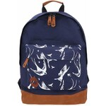 Tmavě modrý unisex batoh s vlaštovkami Mi-Pac Swallow