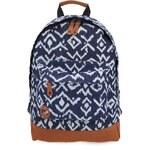 Bílo-modrý unisex batoh se vzory Mi-Pac Tribal Denim