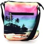 Barevná taška přes rameno s motivem pláže Little Marcel Bipito