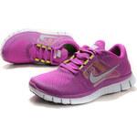 Nike FREE RUN+ 3 Purple/Green/Grey