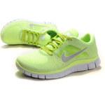 Nike FREE RUN+ 3 Lime Green