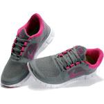 Nike FREE RUN+ 3 Deep/Grey Pink