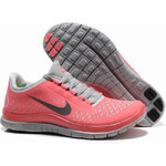 Nike Free Run 3.0 V4 Hot Pink Punch Reflective Silver Pro Platinum