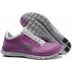 Nike Free Run 3.0 V4 Magenta Reflective Silver Pro Platinum