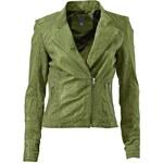 HEINE - Best Connections dámská kožená bunda, bunda zelená