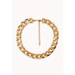Forever 21 Statement-Making Curb Chain Necklace