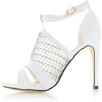 Bílé sandály Estera EUR41