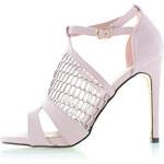 Růžové sandály Romantic EUR41