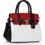 Černo-bílá kabelka Meredith