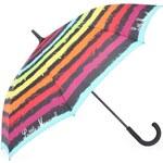 Barevný pruhovaný velký deštník Little Marcel Pamela