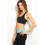 Forever 21 Low Impact - Mesh-Trimmed Sports Bra
