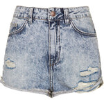 Topshop MOTO Hallie Denim Hotpants