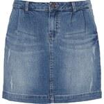 Jake*s Jeans-Minirock im Used Look