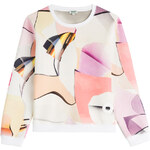 Kenzo Paper Printed Neoprene Sweatshirt