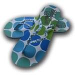 URBAN BEACH BLOBS WMS ZABKY - mořská zeleň (GRN-BLU) - US 3