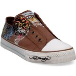 Ed Hardy Chaussures 18 lr lowrise classic Marron