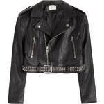 Iro Cropped Leather Jacket