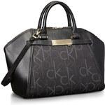 Černá kabelka Calvin Klein addie dome