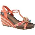 VICES Gladiátorky, sandálky na klínkovém podpatku 40