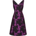 LONDON TIMES Šaty s květinovým žakárovým vzorem Delilah