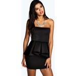BOOHOO Černé šaty Jolie