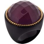LUCAS JACK Designový prsten s broušeným polodrahokamem