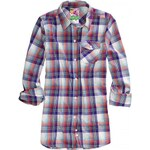 Košile Burton Player brt wht prismtic plaid 2011/2012 dámská