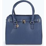 BOOHOO Modrá kabelka Erin