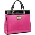 Just Star dámská kabelka Contrast růžová