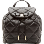 Salvatore Ferragamo Giuliette Quilted Leather Backpack