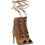 Giuseppe Zanotti Textured Leather Stiletto Sandals