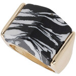 Topshop Semi Precious Square Ring