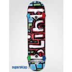 Skateboard Blind OG Logo Stained Glass (Blue/Red)