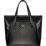 GOSHICO - Velká taška na rameno – FLOWERBAG (černá) - 2007