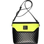 GOSHICO - Messenger bag / Pošťácká taška Flowerbag (limonovo - černá) - 2026