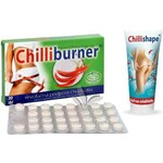 Good Nature Chilliburner 30 tbl. + Chillishape - gel na celulitidu 200 ml ZDARMA