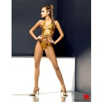 Obsessive Plavky Goldenglow - zlatá - L/XL