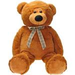 Mix hračky PLYŠ Medvěd 90 cm s mašličkou - dle obrázku