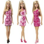 Mattel Barbie panenka v šatech - dle obrázku