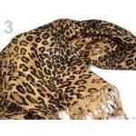 Stoklasa Šála PASHMINA 70x180cm zvířecí vzory (1 ks) - 3 viz foto