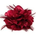 Stoklasa Brož Ø85mm růže (1 ks) - 4 červená