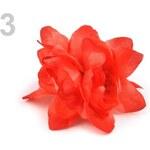 Stoklasa Ozdoba růže Ø6 cm (1 ks) - 3 červená výrazná