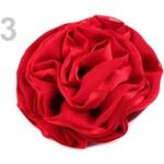 Stoklasa Růže do vlasů Ø 90mm LILY (1 ks) - 3 červená jahoda